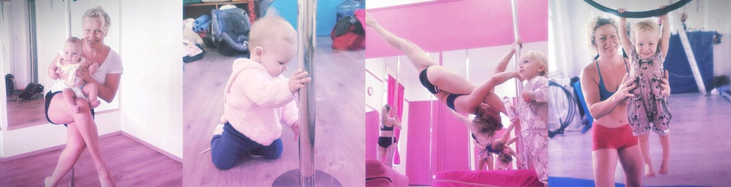 Pole with Baby